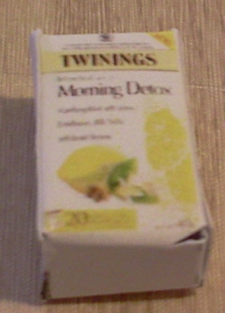 Dolls House Miniature Twinings Morning Detox, Food and Drink - The Dolls House Store