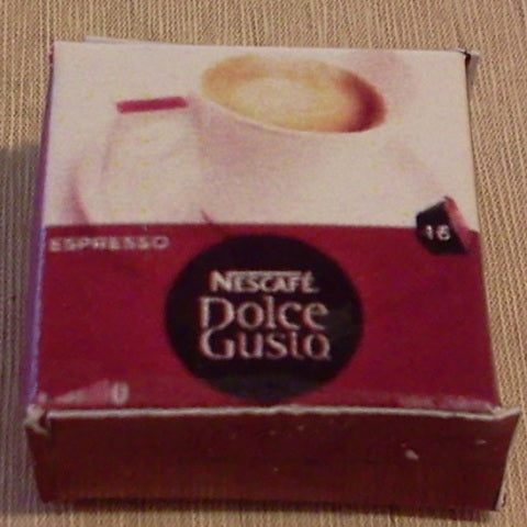 Dolls House Miniature Espresso Dolce Gusto, Food and Drink - The Dolls House Store