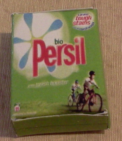 Dolls House Miniature Bio Persil, Laundry - The Dolls House Store