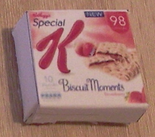 Dolls House Miniature Special K Biscuit Moment, Food and Drink - The Dolls House Store