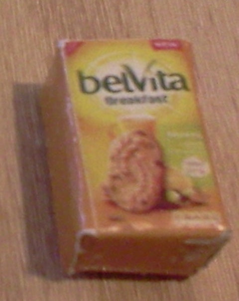 Dolls House Miniature Belvita Muesli, Food and Drink - The Dolls House Store