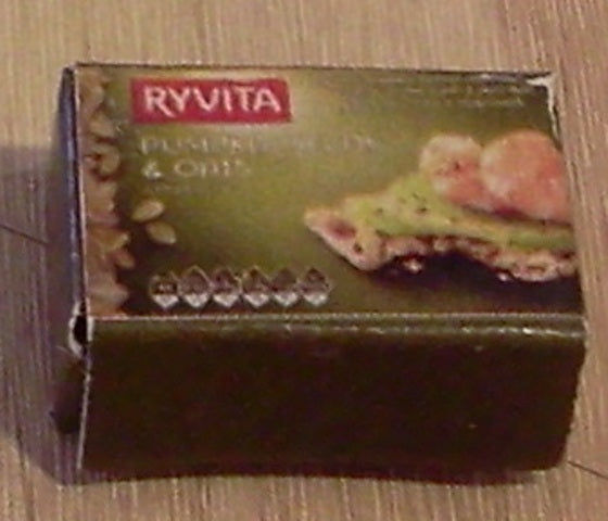 Dolls House Miniature Ryvita Pumpkin Seeds & Oat, Food and Drink - The Dolls House Store