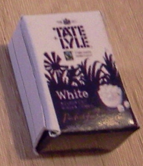 Dolls House Miniature Tate Lyle White Sugar, Food and Drink - The Dolls House Store