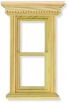 Dolls House Miniature Sash Window, Doors and Windows - The Dolls House Store