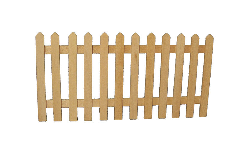 Dolls House Miniature Picket Fence, Garden - The Dolls House Store
