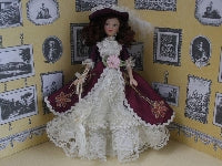Dolls House Miniature Scarlett, Dolls and Resin Figures - The Dolls House Store