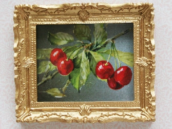 Dolls House Miniature Cherries, Paintings - The Dolls House Store