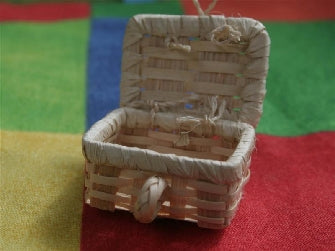 Dolls House Miniature Small Hamper, Garden - The Dolls House Store