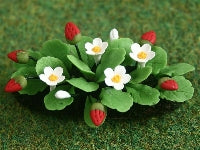 Dolls House Miniature Strawberry Plants In Earth, Flowers - The Dolls House Store