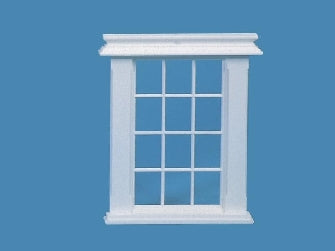 Dolls House Miniature White Window, Doors and Windows - The Dolls House Store