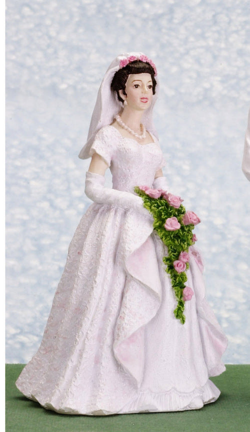 Dolls House Miniature Connie / Bride, Dolls and Resin Figures - The Dolls House Store
