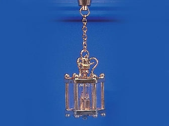 Dolls House Miniature Hall Lantern, Lighting - The Dolls House Store