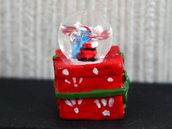 Dolls House Miniature Christmas Snow Globe, Christmas - The Dolls House Store