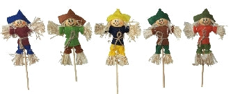 Dolls House Miniature Jolly Scarecrows Assorted, 1Pc, Garden - The Dolls House Store