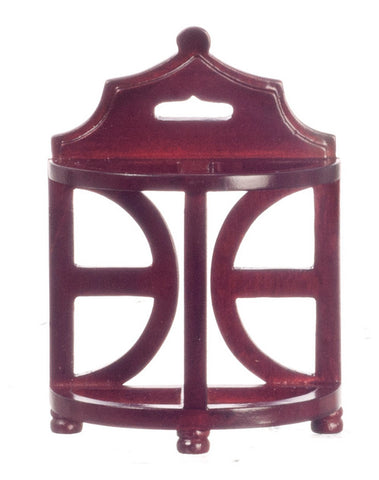 Dolls House Miniature Mahogany Umbrella Stand, Hall - The Dolls House Store