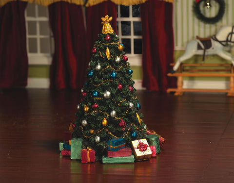 Dolls House Miniature Decorated Christmas Tree, Christmas - The Dolls House Store