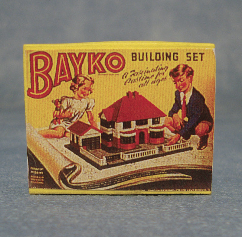 Dolls House Miniature Bakyo Building Set, Accessories - The Dolls House Store