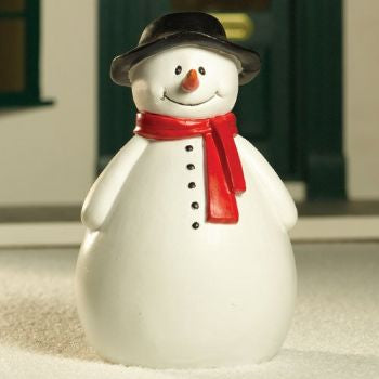Dolls House Miniature Roley the Snowman (PR), Christmas - The Dolls House Store