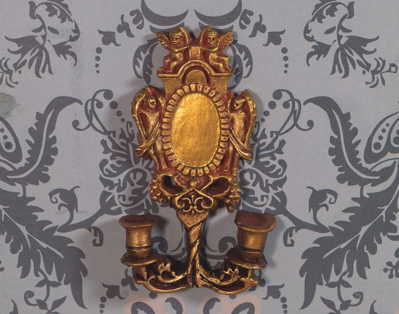 Dolls House Miniature Cherub Wall Sconce, Accessories - The Dolls House Store