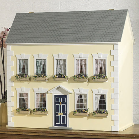 Dolls House Miniature Amber House Fully Finished, Dolls Houses and Basements - The Dolls House Store