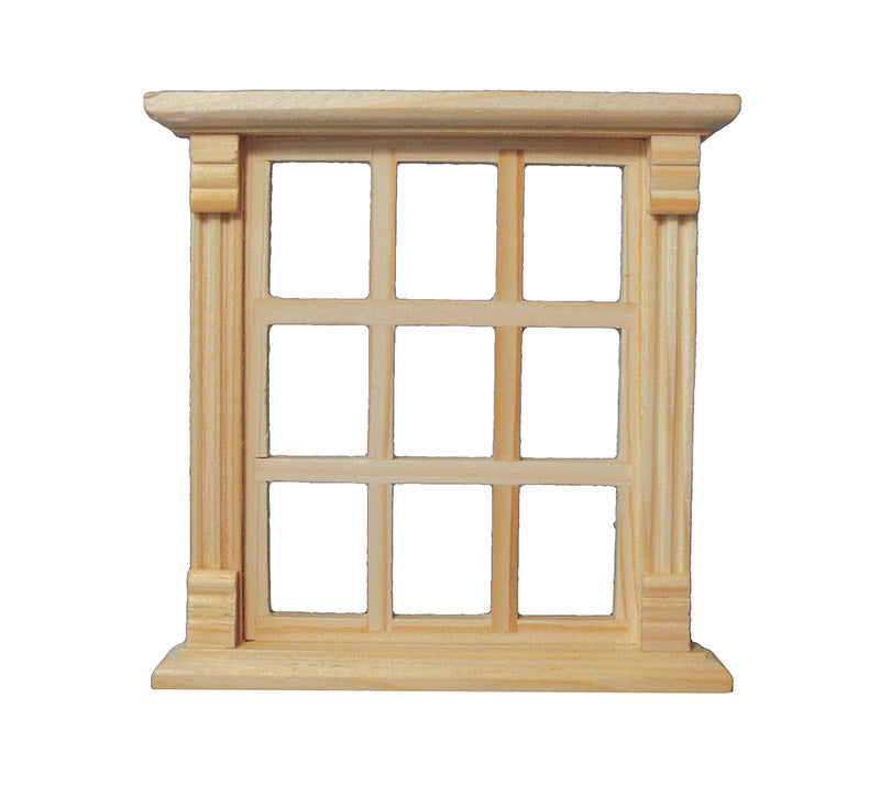 Dolls House Miniature 9 Pane Window, Doors and Windows - The Dolls House Store