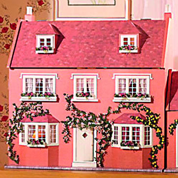 Dolls House Miniature April Cottage Kit, Dolls Houses and Basements - The Dolls House Store