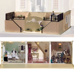 Dolls House Miniature Burghley Basement Fully Funished, Dolls Houses and Basements - The Dolls House Store