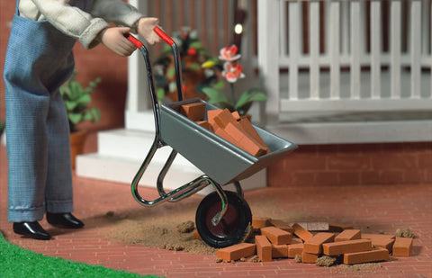 Dolls House Miniature 6188 Wheelbarrow, Garden - The Dolls House Store
