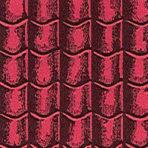 "Dolls House Miniature Red Roof Tiles 22"" x 30"", Roofing - The Dolls House Store"