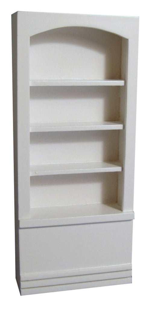 Dolls House Miniature Small Shop Shelves White, Shop Fittings - The Dolls House Store