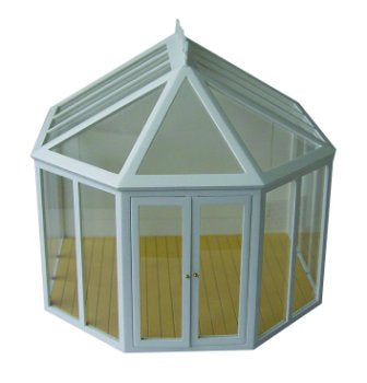 Dolls House Miniature DH510 Victorian Conservatory, Conservatory - The Dolls House Store