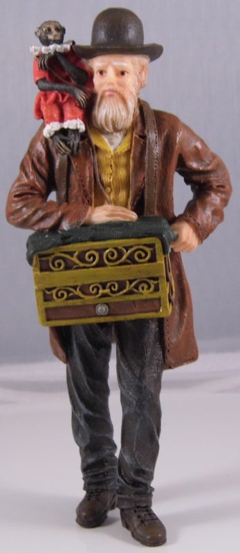Dolls House Miniature Resin Doll Man With Chest, Dolls and Resin Figures - The Dolls House Store