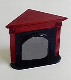 Dolls House Miniature Corner Fireplace, Fireside - The Dolls House Store