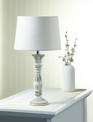 Antiqued Finished Table Lamp