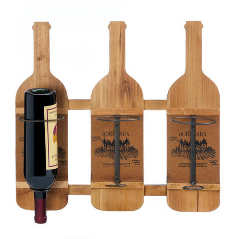 Bordeaux Wooden Bottle Holder