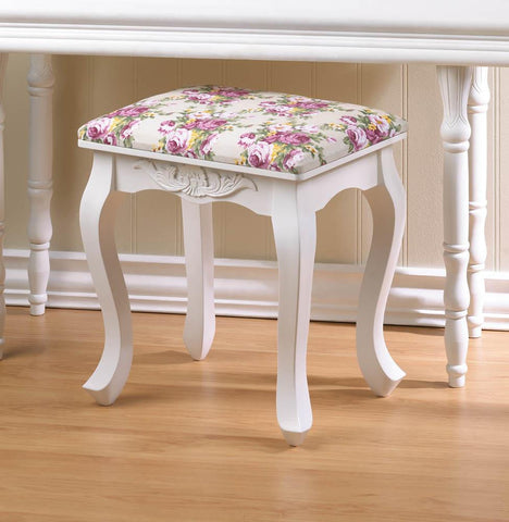 Floral Oasis Foot Stool