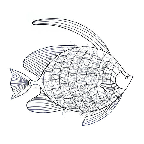 Intricte Fish Wall Decor