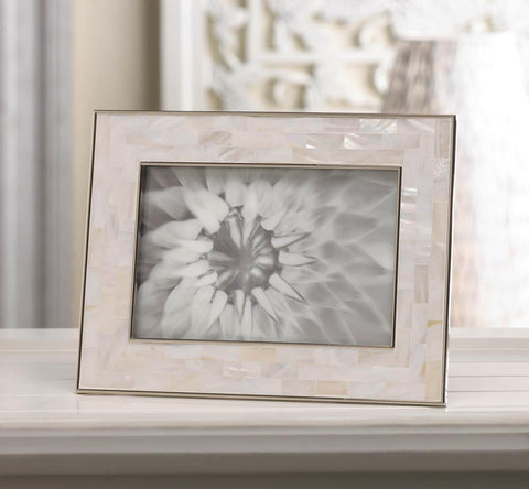 Mother of Pearl Mosaic Photo Frame