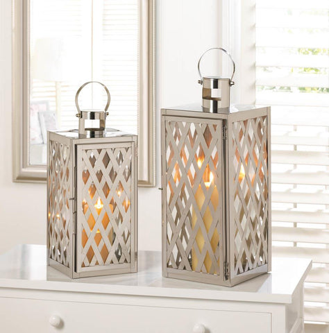 Steel Lattice Lantern Combo