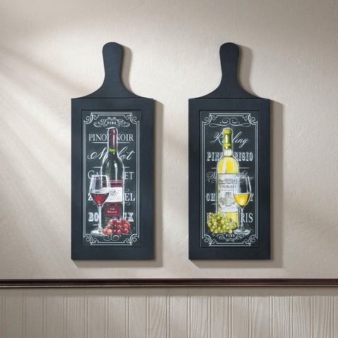 Bottle Wall Art Duo