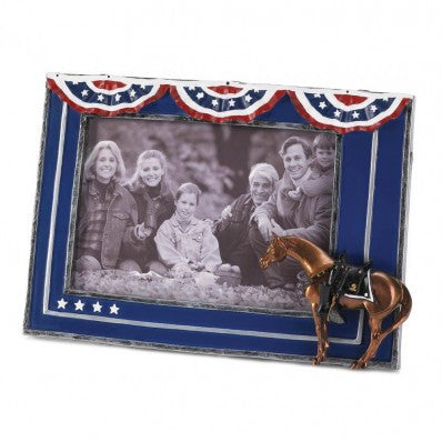 Painted Ponies Fallen Hero Frame 4x6
