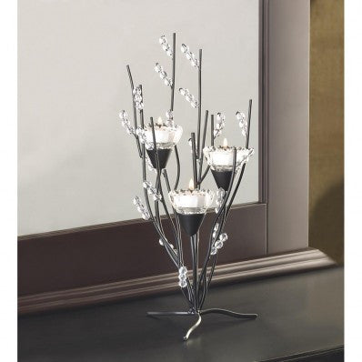 Crystal Tree Tealight Candleholder