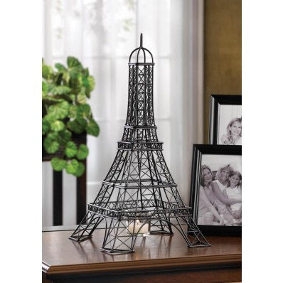 Eiffel Tower Candleholder