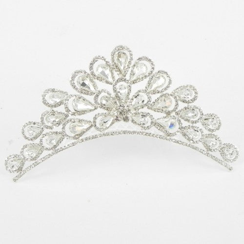 616037 Silver Hair Comb