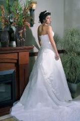 Ivory Satin gown
