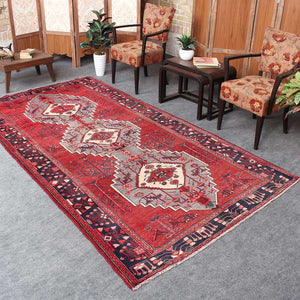 Handmade Persian Red Rugs 5x9 Dining Room rugs