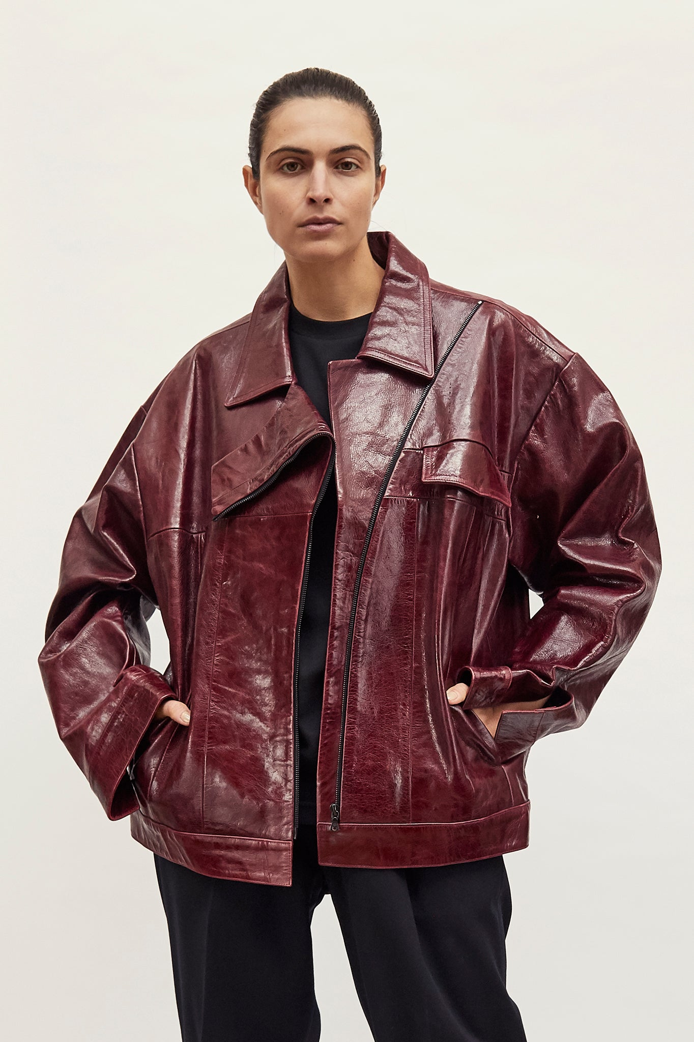 "Leather ""Amelia"" Jacket"