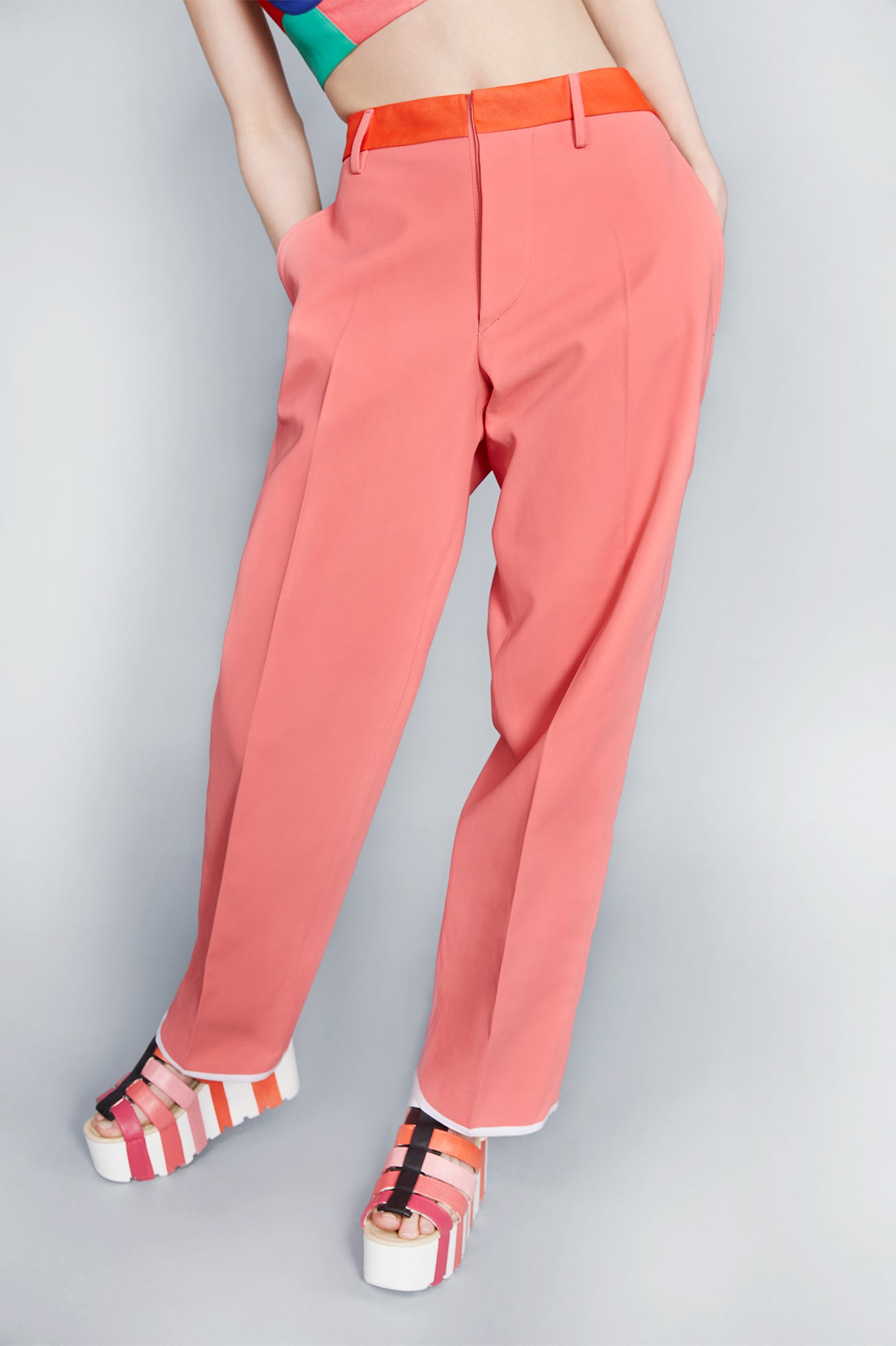 Solid Colour ''Blake'' Trousers
