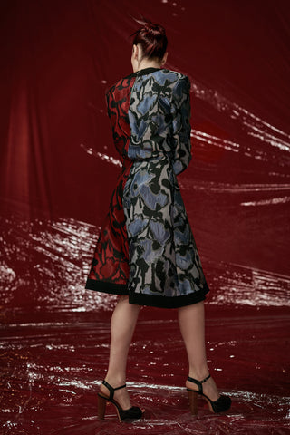 "Jacquard ""Demi"" Dress"