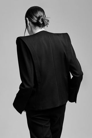 "Black Wool ""Angelina"" Jacket"